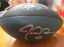 Jon Dorenbos Philadelphia Eagles Signed Mini Logo Football COA