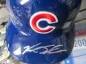 Kyle Schwarber Chicago Cubs Signed FS Authentic Batting Helmet JSA
