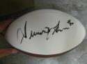 Irving Fryar New England Patriots signed FS Logo Football COA 2 Inscriptions