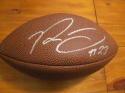Rodney Mcleod Philadelphia Eagles/St Louis Rams  Signed Replica Football COA