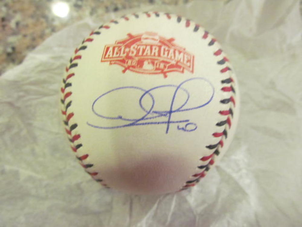 Adam Jones Baltimore Orioles Signed 2015 All Star Baseball COA