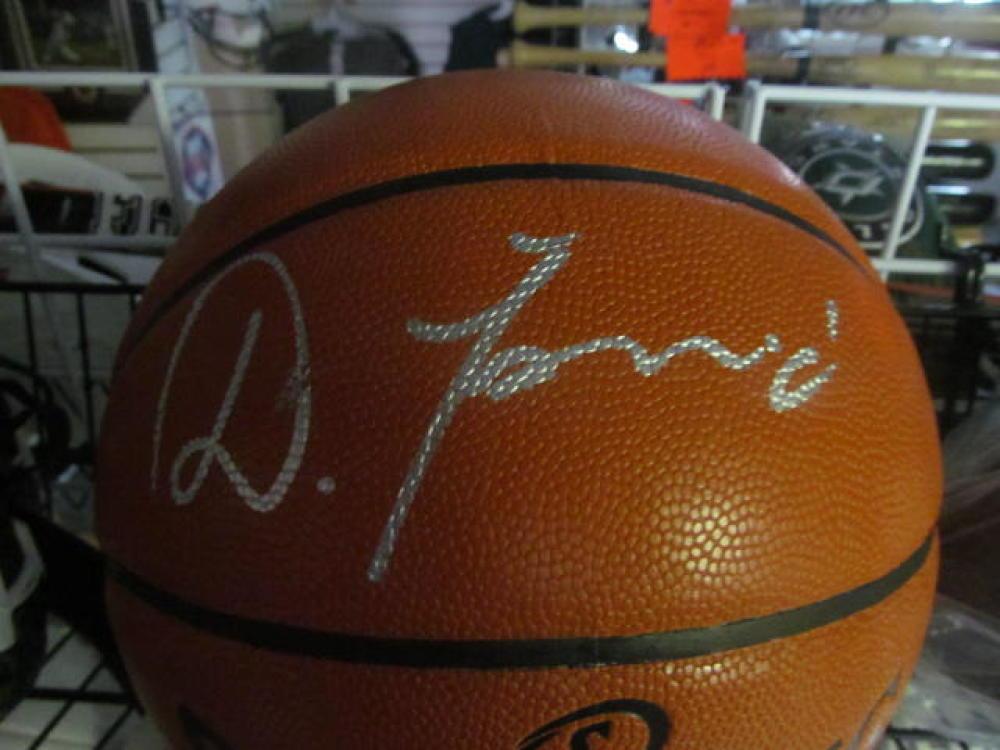 Dario Saric Philadelphia 76ers Signed FS Basketball COA