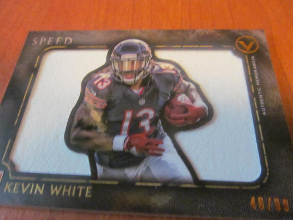 Kevin White Chicago Bears 2015 Topps Valor Jersey Card MINT