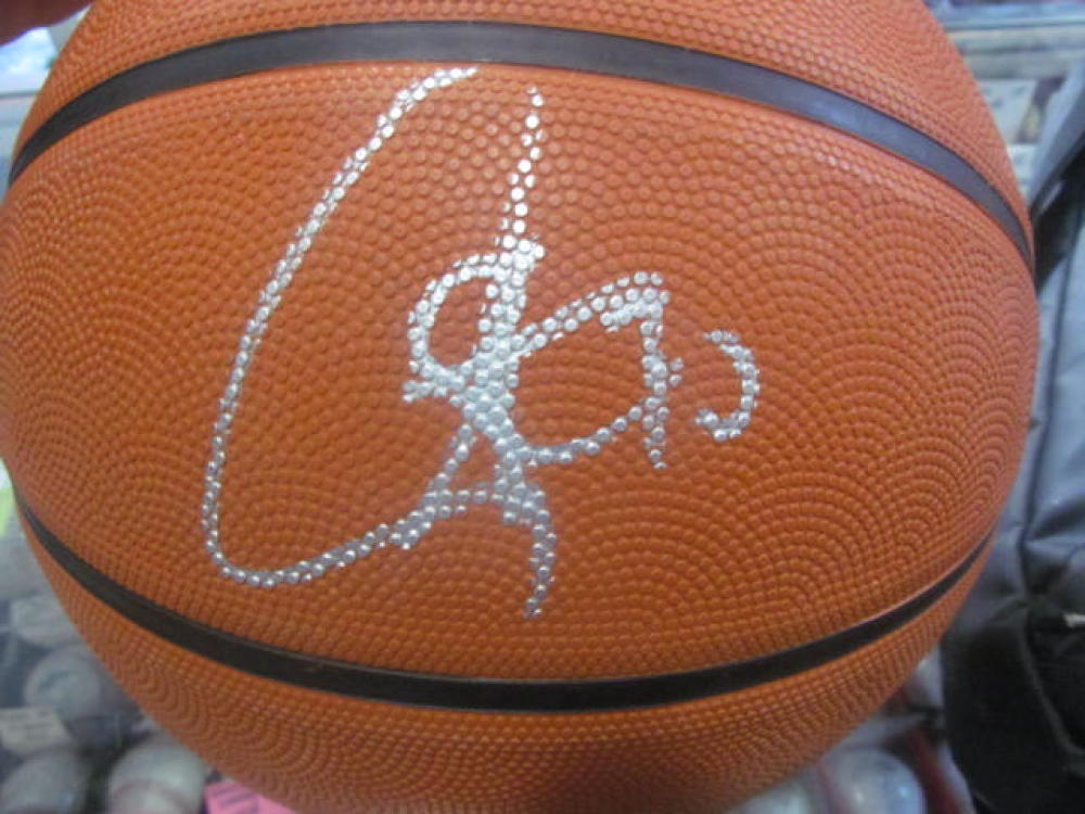 Stephon Curry Golden State Warriors Signed FS Basketball JSA