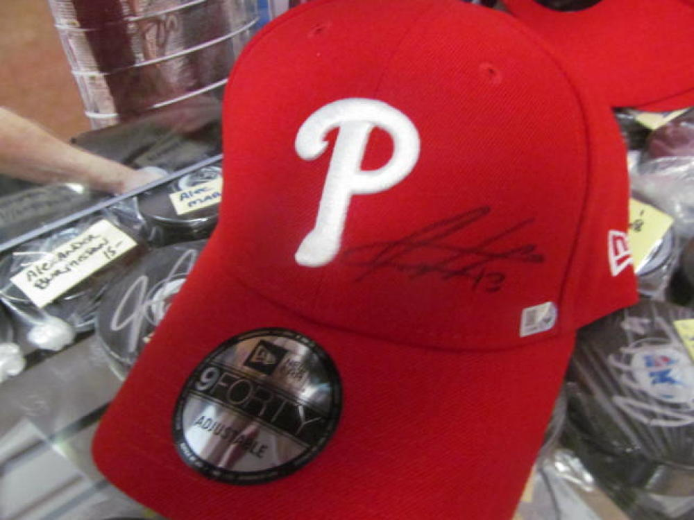 Freddy Galvis Philadelphia Phillies Signed Hat MLB Authenticated