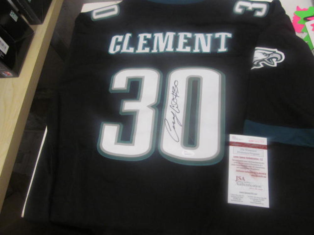Corey Clement Philadelphia Eagles Signed Custom Jersey JSA