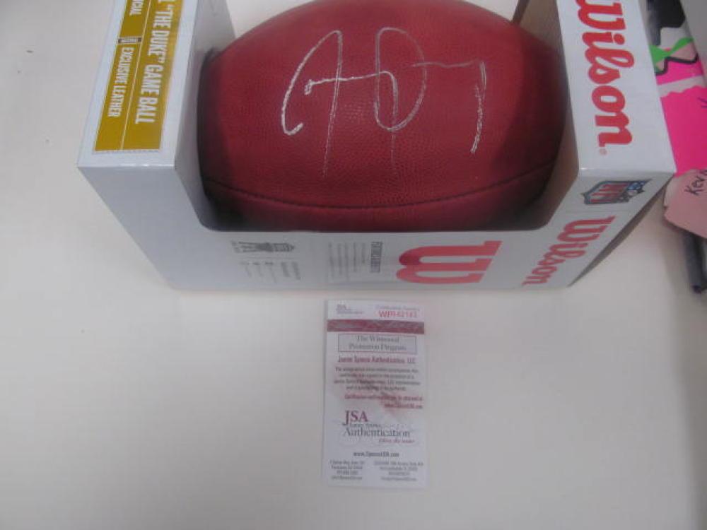 Jay Ajayi  Philadelphia Eagles signed official Superbowl LIII Football JSA