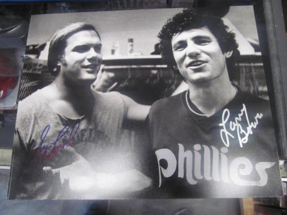 Larry Bowa/Greg Luzinski Philadelphia Phillies Signed 8x10 Photo COA