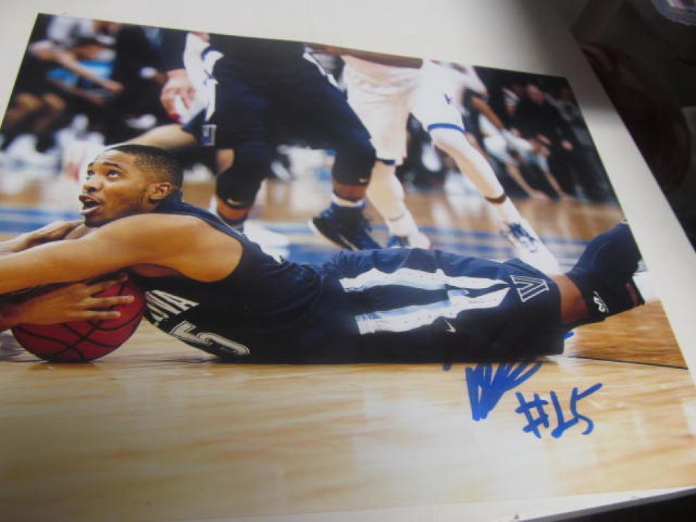 Maikel Bridges Villanova Wildcats Signed 8x10 Photo COA NCAA Champs 3