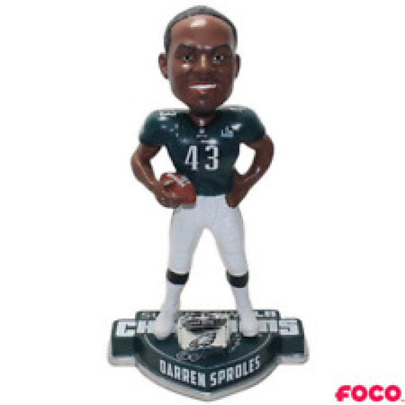 Darren Sproles Philadelphia Eagles Super Bowl Champions Ring Bobblehead NEW