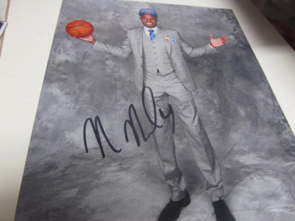 Nerlens Noel Philadelphia 76ers Signed 8x10 Photo COA