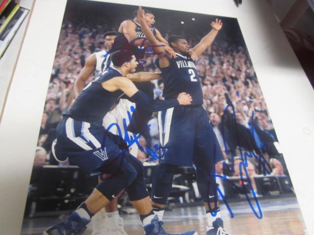 Josh Hart/Kris Jenkins Villanova Wildcats  Signed 8x10 Photo COA