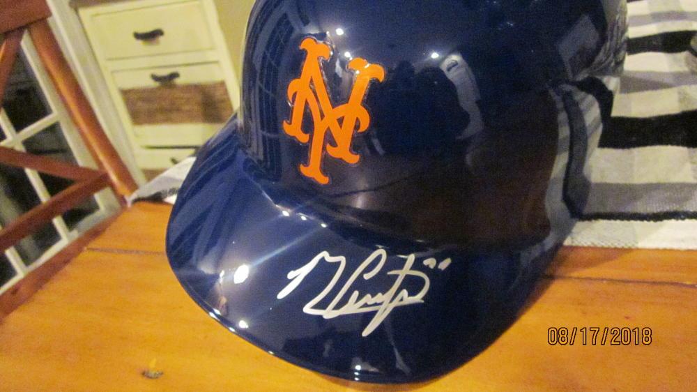 Michael Conforto New York Mets Signed Authentic Batting Helmet COA