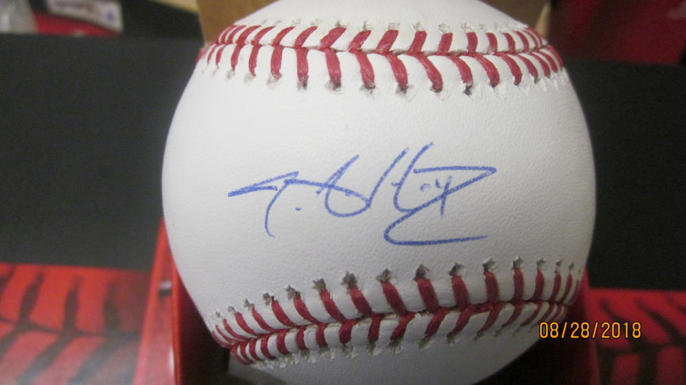 JA Happ Toronto Blue Jays/New York Yankees Signed MLB BaseBall COA