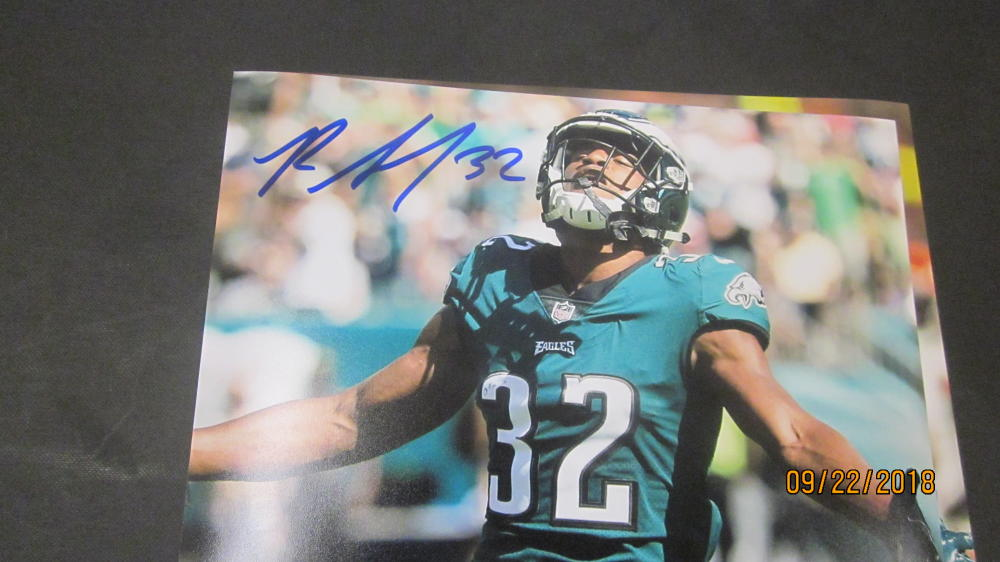Rasul Douglas Philadelphia Eagles Signed 8x10 Photo COA 3