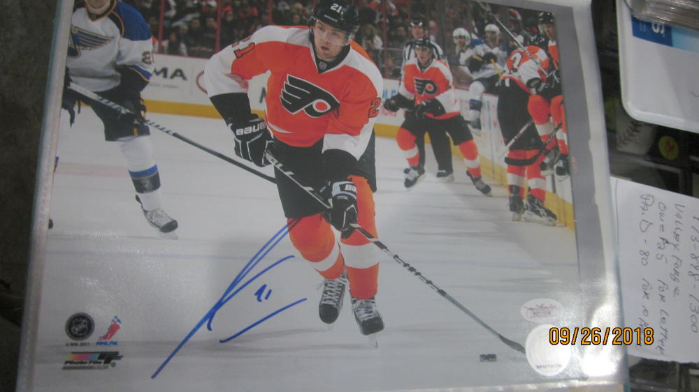 James Van Riems Dyk Philadelphia Flyers  Signed 8x10 Photo COA