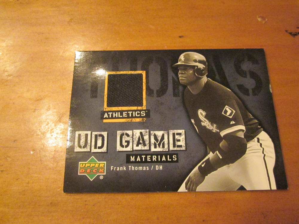 Frank Thomas Chicago White Sox 2004 Upper Deck Jersey card Mint