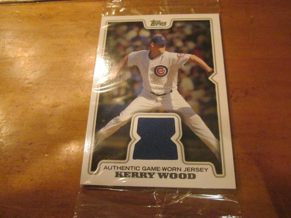 Kerry Wood Chicago Cubs 2008 Topps Jersey Card MINT