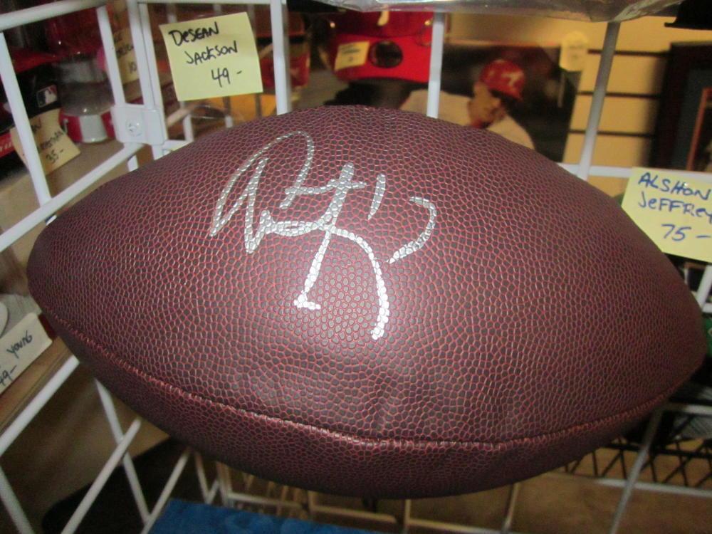 Alshon Jeffrey Philadelphia Eagles Signed  NFL Replica Football COA