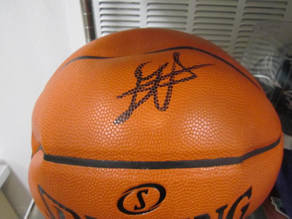 Deandre Ayton Phoenix Suns Signed NBA Replica Basketball COA