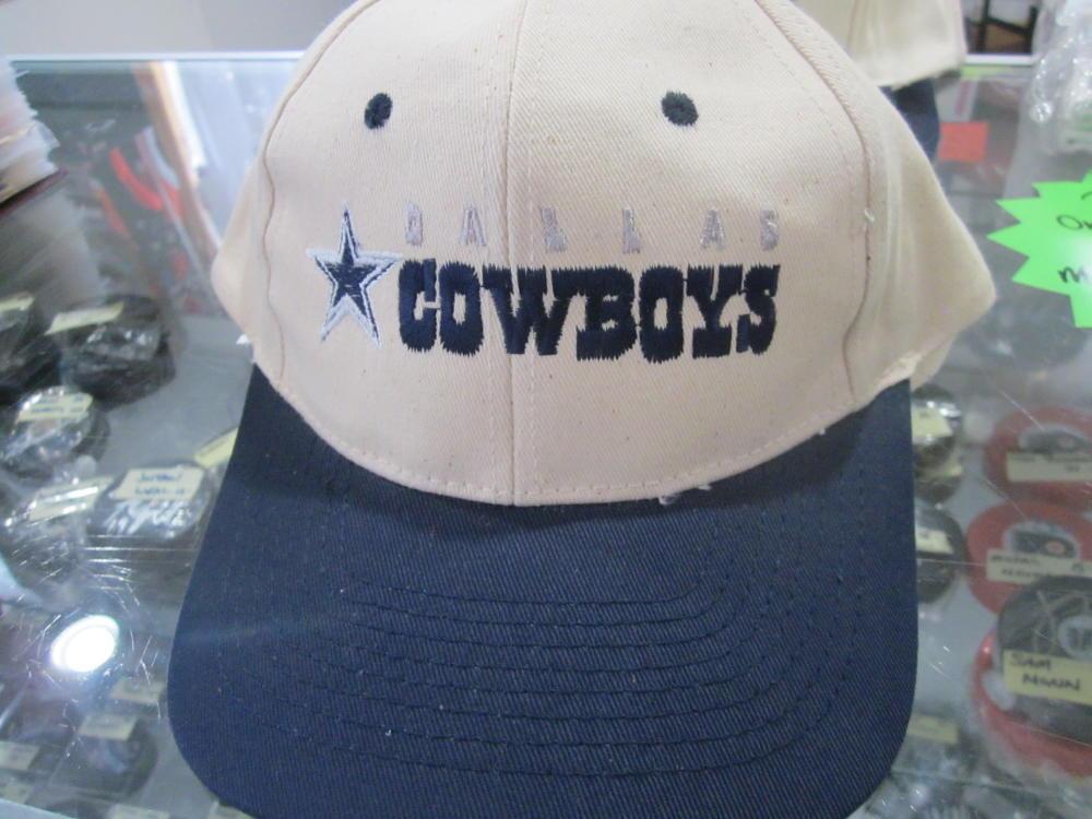 Dallas Cowboys White Adjustable Logo Hat NEW
