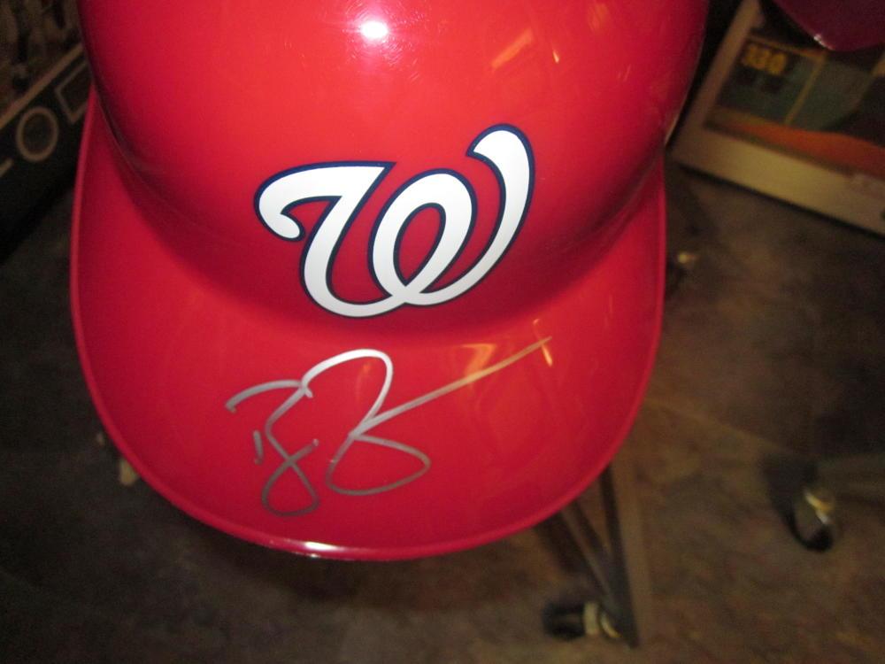 Ryan Zimmerman Washington Nationals Signed Batting Helmet COA