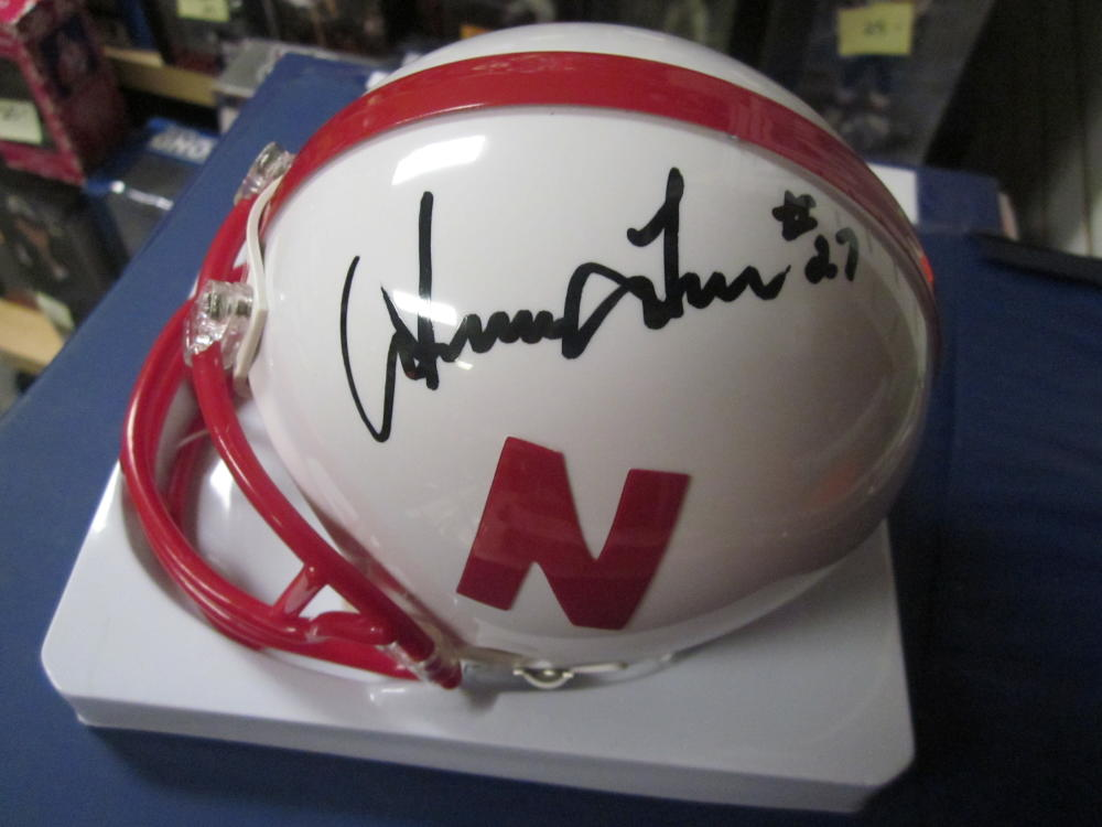 Irving Fryar Nebraska Cornhuskers Signed Mini Helmet COA