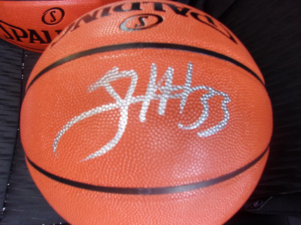 Tobias Harris Philadelphia 76ers  Signed FS NBA Replica Basketball COA