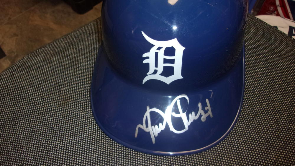 Miguel Cabrera Detroit Tigers Signed Replica Batting Helmet COA
