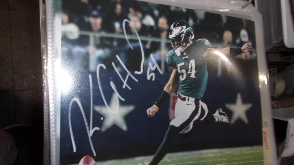 Kamu Grugier-Hill Philadelphia Eagles Signed 8x10 Photo COA