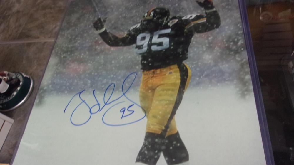 Greg LLoyd Pittsburgh Steelers Signed 16x20 Photo COA
