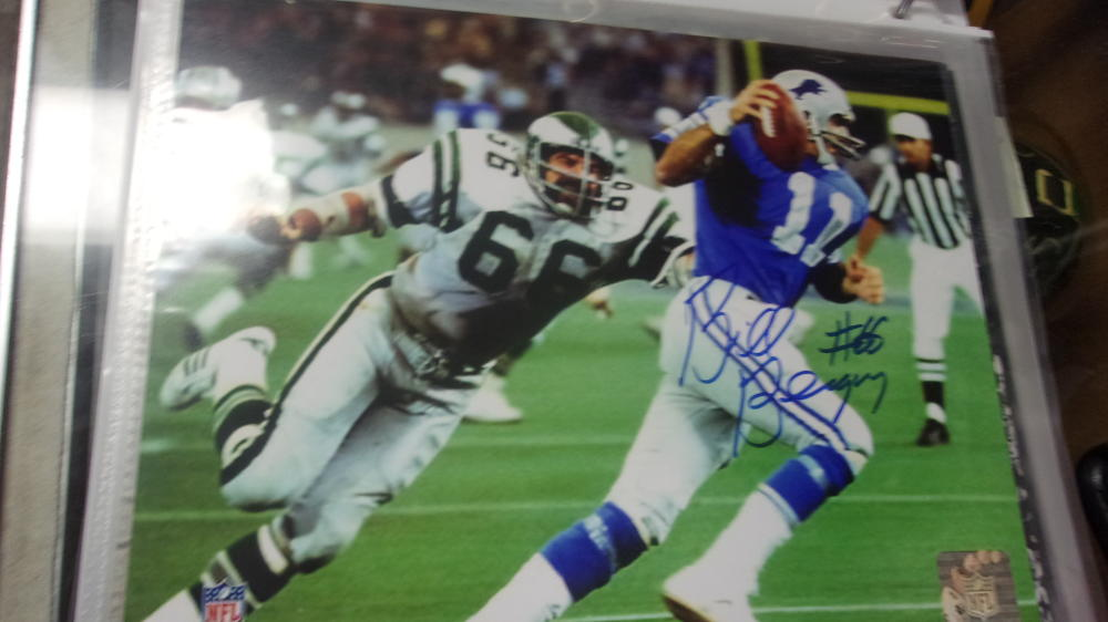 Bill Bergey Philadelphia Eagles Signed 8x10  Photo COA 2