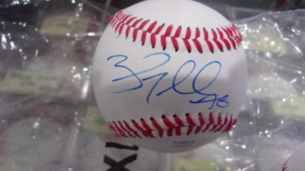 Brad Miller Philadelphia Phillies Signed OLB Baseball COA