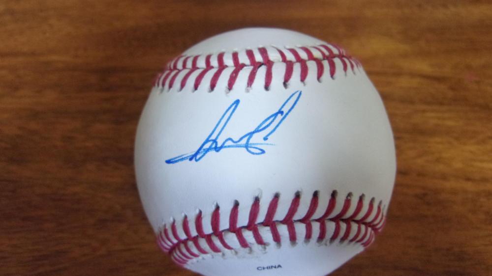Albert Abreu New York Yankees  signed OLB Baseball COA