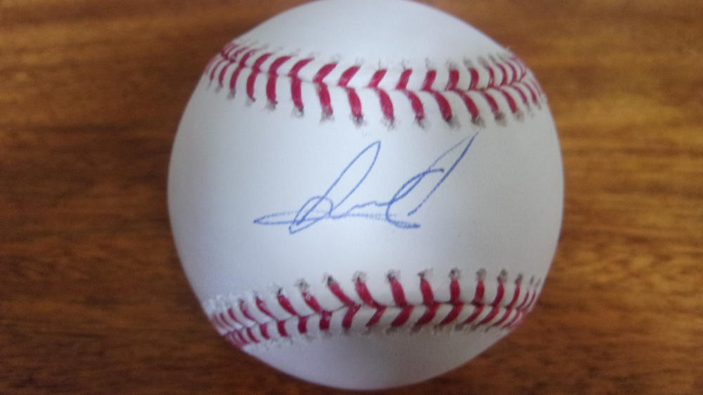 Albert Abreu New York Yankees  signed MLB Baseball COA