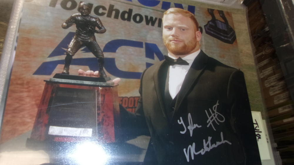 Tyler Matakevich Temple/Pittsburgh Steelers Signed 8x10 Photo COA