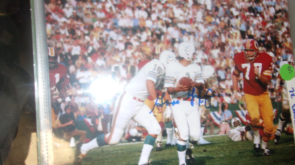Garo Yiepreman Miami Dolphins Signed 8x10 Photo COA