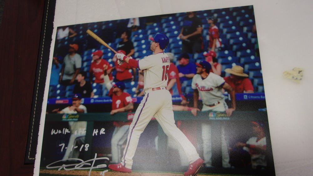 Andrew Knapp Philadelphia Phillies Signed 8x10 Photo COA Inscription 2