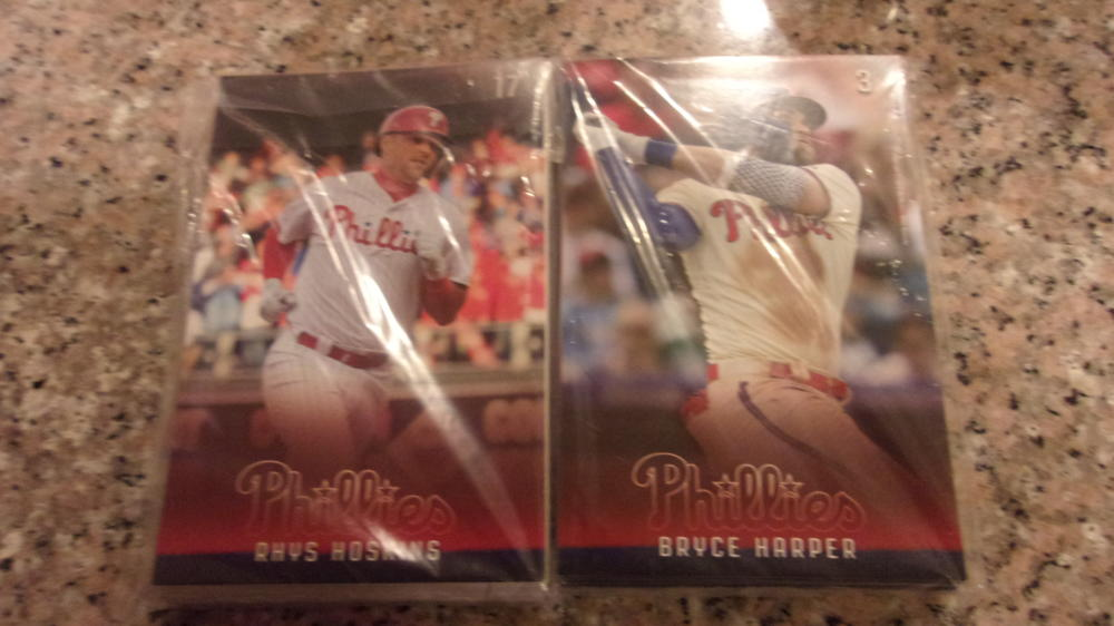 2019 Philadelphia Phillies Photo Card Team Set! New!