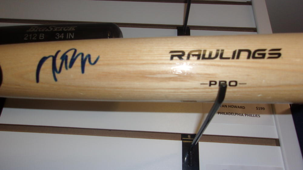 Kris Bryant Chicago Cubs Signed FS Rawlings Bat JSA
