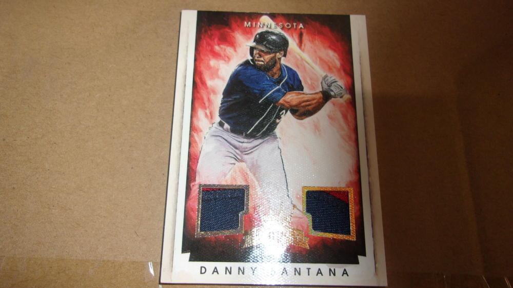 Danny Santana Minnesota Twins 2015 Diamond Kings Jersey Card MInt