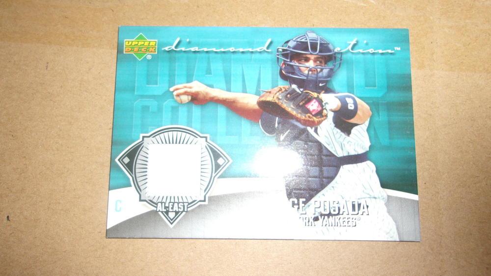Jorge Posada New York Yankees 2006 Upper Deck  Jersey Card MInt
