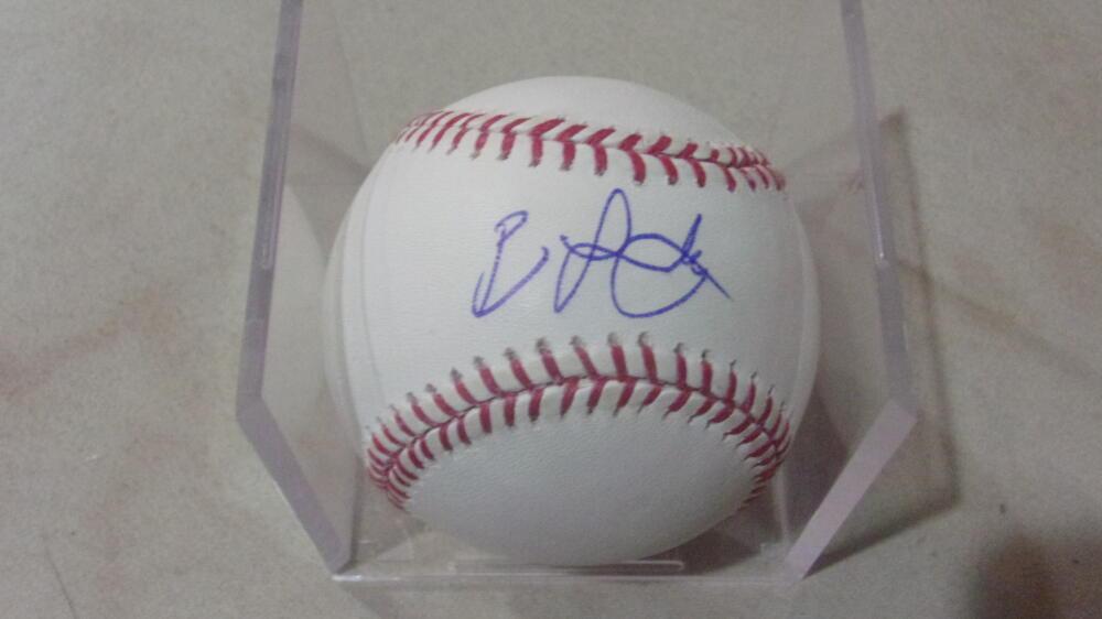 Ben Lively Philadelphia Phillies/Reds Signed MLB Baseball COA