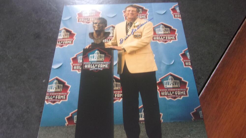 Dick Lebeau Pittsburgh Steelers signed 8x10  Photo COA  HOF
