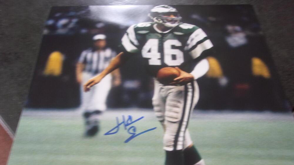 Herm Edwards Philadelphia Eagles signed 8x10 Photo COA