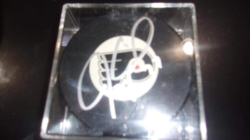 Jeremy Roenick Philadelphia Flyers Signed   Puck COA