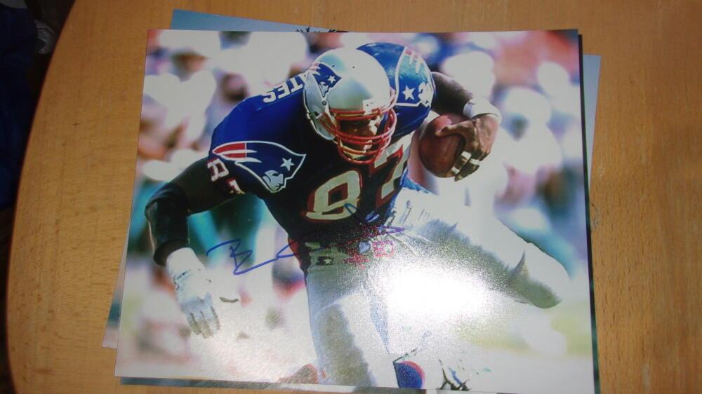 Ben Coates New England Patriots Signed 8x10 Photo COA
