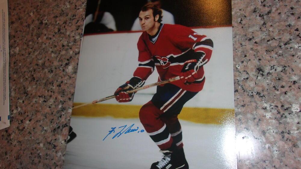 Guy Lafleur Montreal Canadiens  Signed 8x10 Photo COA 2