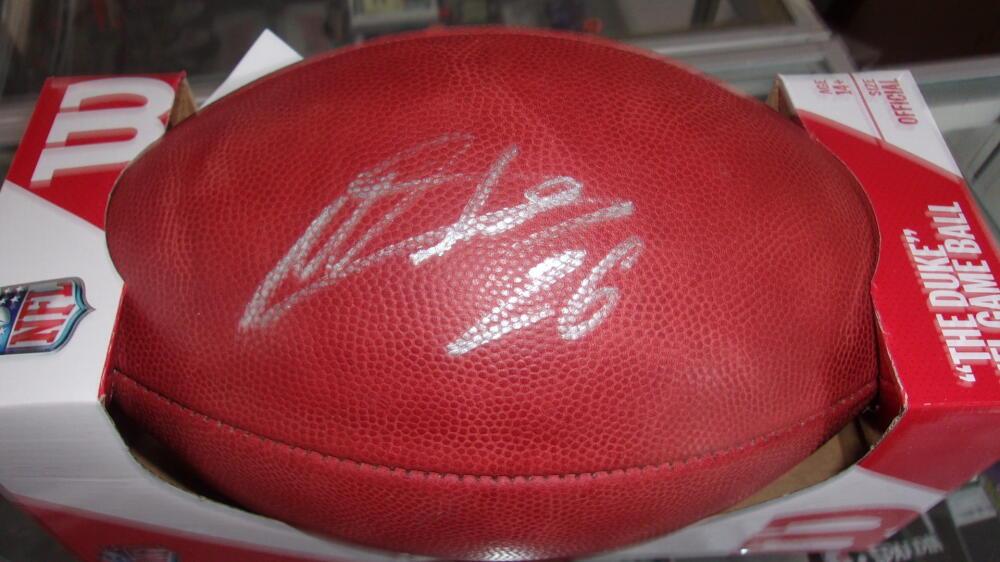 Miles Sanders Philadelphia Eagles Signed Official NFL Football JSA