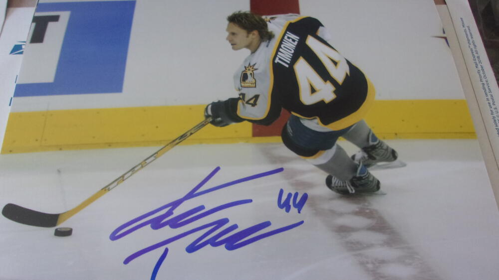 Kimmo Timonen Nashville Predators  Signed  8x10 Photo COA